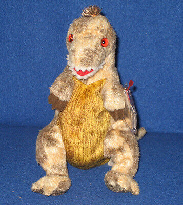 TY TOOTHY the TYRANNOSAURUS BEANIE BABY - MINT with MINT TAG