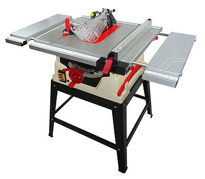 Professional Powermatic Woodworking Sliding Table Saw with Steel Stand 220V New