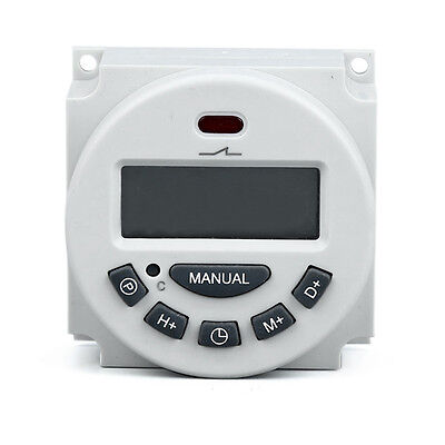 Brand Microcomputer LCD Digital Programmable Electronic Relay  Switch Time Timer