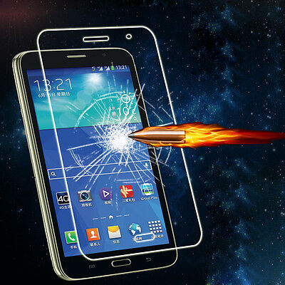Genuine Clear Tempered Glass LCD Film Protector Screen For Samsung Galaxy Tab 4