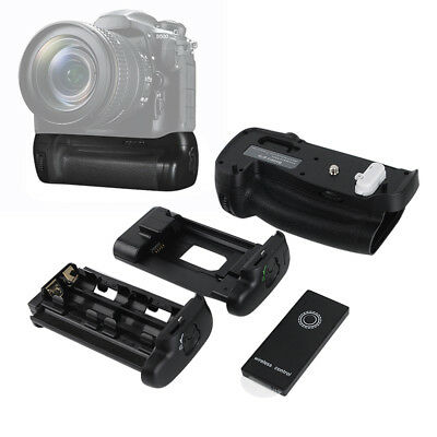 Battery Grip Holder For Nikon D500 Camera+AA &Lithium Battery+Remote Control【AU】