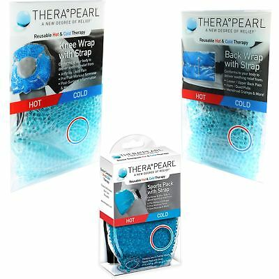 Therapearl Reusable Hot Heat & Ice Cold Gel Bead Pain Relief Therapy Wrap Pack