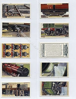 Full Set, Churchman, Railway Working A Series, 1926 VG-EX (Ga3110-456)