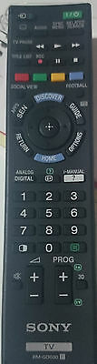 Sony TV Replacement Remote - RM-GD030