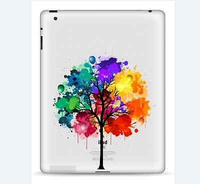 Beautiful Tree iPad 1/2/3/4 Vinyl Sticker Skin Decal Back Cover