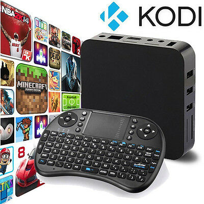NEW HD 1080P 4K Quad Core Android 5.1 TV Box Fully Loaded KODI XBMC Media Player