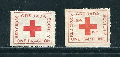 Grenada World War One Red Cross 1914 Charity Farthing