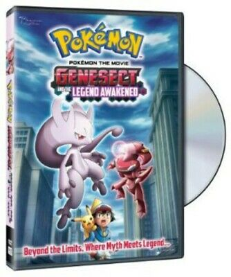 Pokemon the Movie: Genesect and the Legend Awakened [New DVD] Subtitled