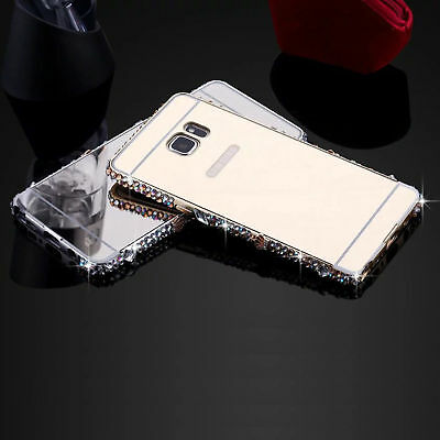 Bling Crystal Diamond Mirror Case Cover For Samsung Galaxy S8+ S7 S6 Edge Note8