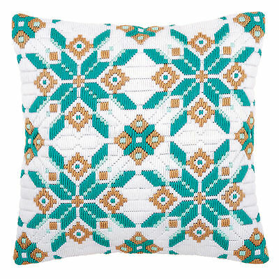 Ice Star-One :Vervaco  Long Stitch Cushion Front Kit - PN0149141
