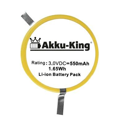 Akku-King Backup / CMOS / BIOS Batterie für Verifone Nurit 8020 / 802B-WW-M05