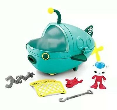Octonauts Gup A Captain Barnacles Vehicle Octo Crew Bath Toy Girl Boy Gift NEW!