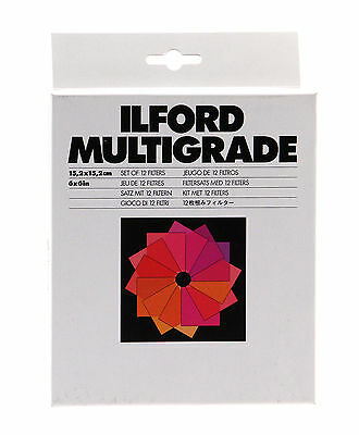 Ilford Multigrade Filter Set, 6 x 6in.