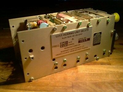 Aircraft BE373 UHF Homing Unit - Burndept Ltd - For repair, parts or Prop Use