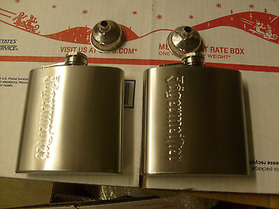 Jagermeister Flask Lot Of 2