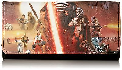 Loungefly STAR WARS The Force Awakens WOMAN'S CLUTCH  Wallet