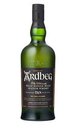 Ardbeg 10YO Single Malt Scotc h Whisky 700ml  (Boxed)