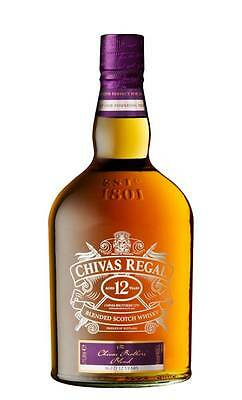 Chivas Regal 12YO Brothers Blend Scotch Whisky (1 Litre Boxed)
