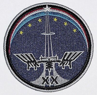 Aufnäher Patch Raumfahrt ISS Mission - Expedition 20 ..............A3225