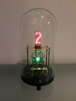 "Steampunk Nixie Tube Clock ""Necropolis Clock"" ***PRICE DROP***"