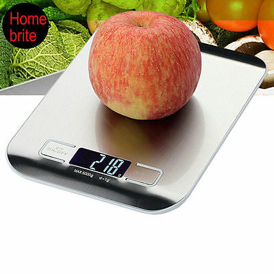 New Digital Kitchen Weight Scale 5KG/1G 11lbs LCD Electronic Diet Food Device