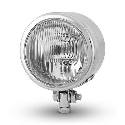 "4.5"" 4 1/2"" Chrome Headlight for Custom Retro Project Motorbike - 12V 55W"
