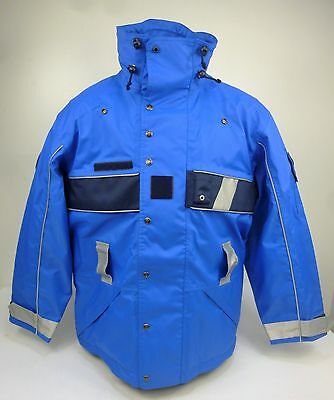 NEW French Police Waterproof Breathable Motorcycle Motorbike Jacket Coat D4 (F3)