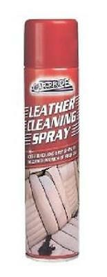 ** CAR PRIDE LEATHER CLEANING SPRAY 250ml NEW  ** ADDS SHINE