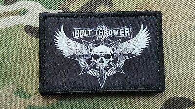 Bolt Thrower  Hook Backed Morale Patch Warhammer 40k Space Wolf Terminator