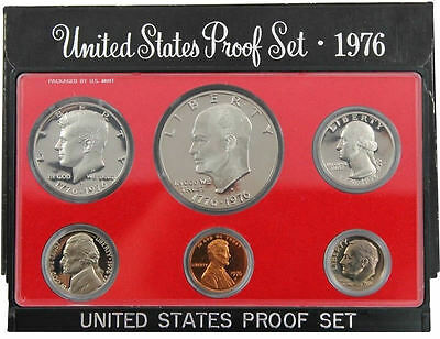 1976 S US Mint Proof Coin Set
