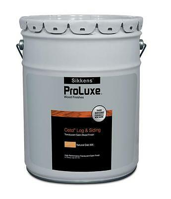 SIKKENS PROLUXE Cetol Log & Siding Wood Finish Stain - 5 Gallon Pail