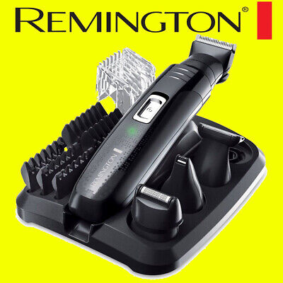 Remington PG6130 Mens Rechargeable 4 in 1 Personal Groomer Kit Trimmer Clipper