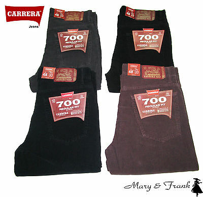 Pantalone Jeans Carrera 700/1050A Velluto 1000R Tasca Jeans Regular Fit