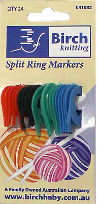 BIRCH | Ring Markers | Split Rings | Assorted