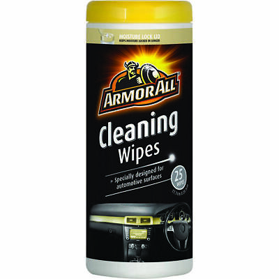 Wipes Cleaning Armor All 25Pk