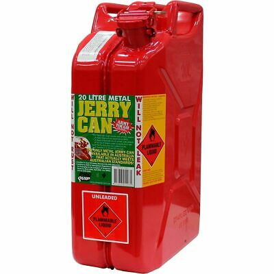 Metal Jerry Can - Petrol, 20 Litre