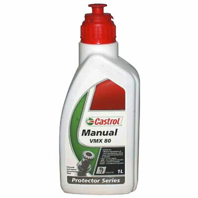 Castrol VMX 80 Transaxle & Manual Transmission Fluid - 1 Litre