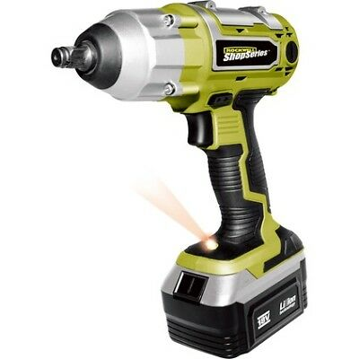 "Rockwell ShopSeries Cordless Impact Wrench - 1/2"", 18 Volt Li-Ion"