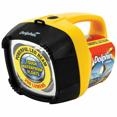 Dolphin Torch - 4 LED, 6 Volt
