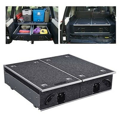 4WD Vehicle Drawer Storage System - Universal, Double