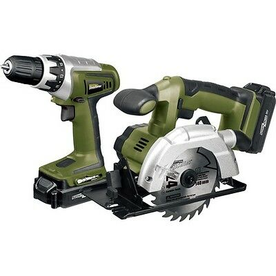 Rockwell Shopseries Cordless Drill & Circular Saw Kit - 18 Volt
