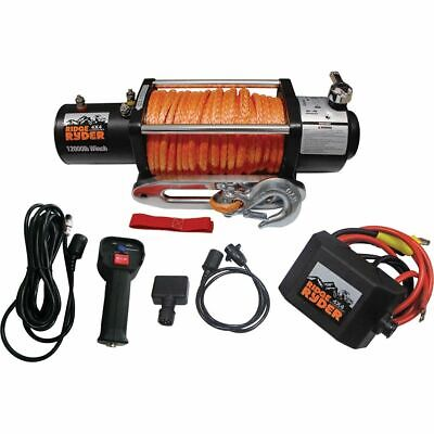 Ridge Ryder Electric Winch - 12000lb, 12 Volt