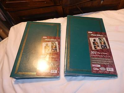 "2 Pioneer Photo Albums 300 slip in Pockets for 4"" x 6"" Pictures new"