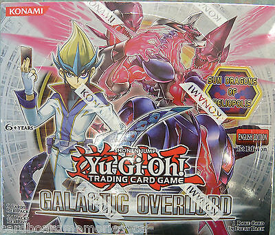 Yu-gi-oh! Yugioh Galactic Overlord Factory Sealed 1st Edition Booster Box