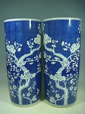 beautiful chinese blue&white porcelain a pair vases