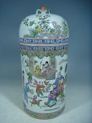 beautiful chinese famille rose porcelain pot