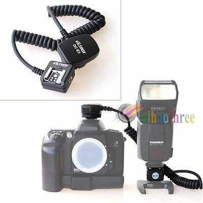 TTL Off Camera Hot Shoe Flash Sync Cable OC-E3 For Canon EOS Series Camera【AU】