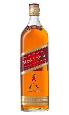 Johnnie Walker Red Label Scotch Whisky (1 Litre)