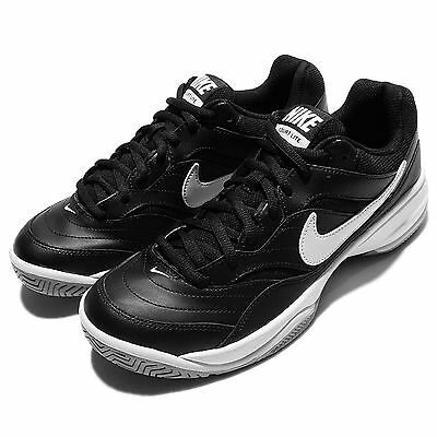 Nike Court Lite Black White Mens Tennis Shoes Sneakers Trainers 845021-010