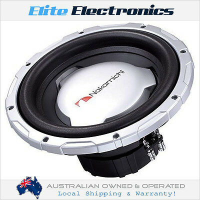 """Nakamichi Sp-W3501D 12"""" Competition Dvc 4-Ohm 3000W Max Subwoofer Car Audio Sub"""